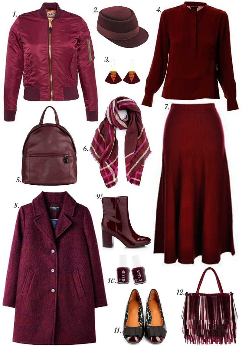 pieces_tendance_marsala_automne_hiver_2015_brandalley